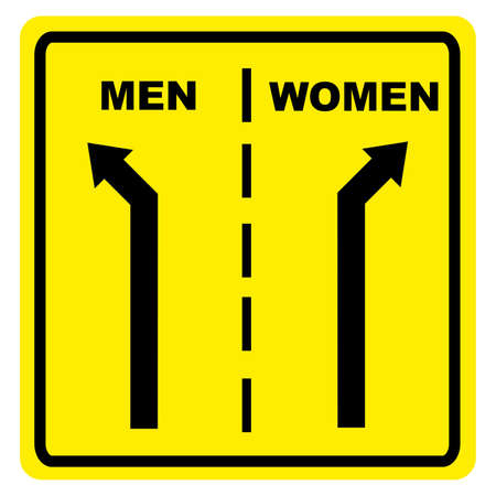 oneness: Man  Woman sign