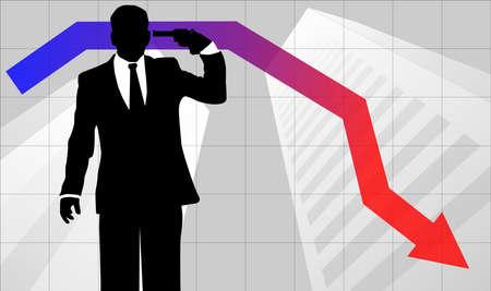 endangerment: Businessman in trouble