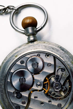 sprockets: Interior of an old pocket watch