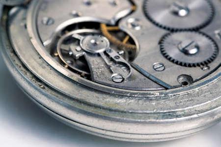 rackwheel: Interior of an old pocket watch