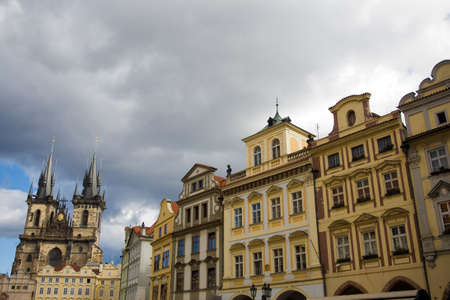 old town square: View of Old town square in Prague