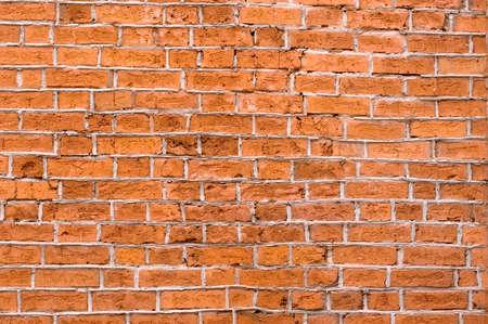 Old brick wall, close up photo