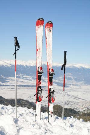 to ski: Winter dream