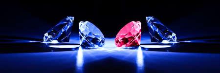 cerca de diamante de corte clásico Foto de archivo - 4567584
