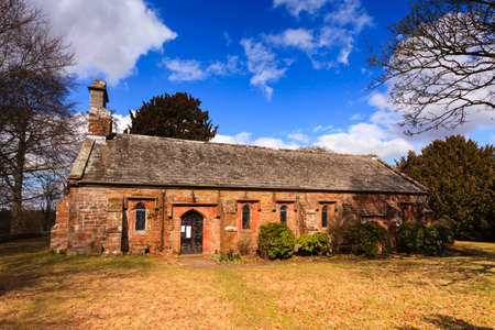 Saint Wilfrids Chapel.  Saint Wilfrids Chapel is the local parish church situated next to Brougham Hall near Penrith, Cumbria in northern England.