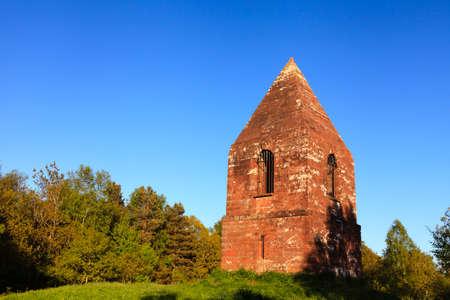 ペンリス ビーコン。 ペンリス ビーコンはイングランド北部のペンリス、カンブリア州のすぐ北にある丘の上に位置しています。 ビーコンは、1719  写真素材