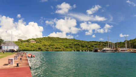 Nelsons Dockyard, is a national park on the island of Antigua.  It is the only continually working Georgian shipyard in the world.