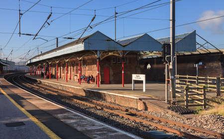 Penrith railway station, on the English west coast mainline.