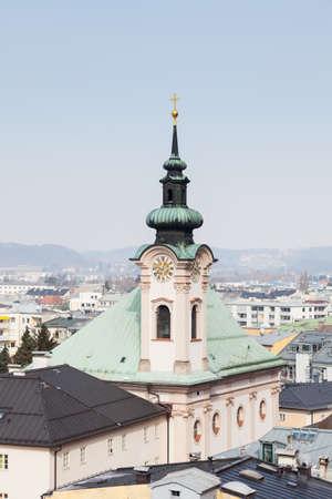 The Church of Saint Sebastian in Salzburg, Austria.