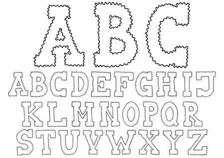 majuscule: Waved Hand Drawn Alphabet Typeface