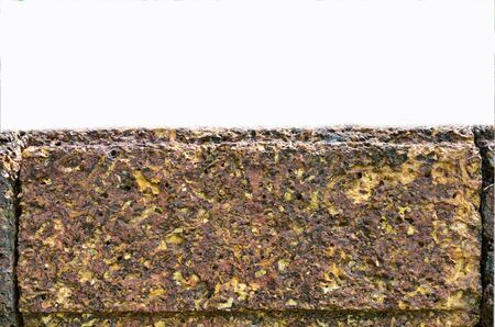 grinta: Grit pietra modello su sfondo bianco