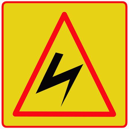 Danger high voltage photo
