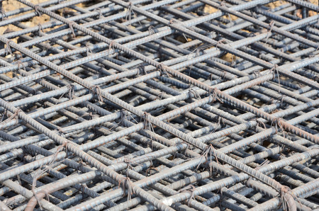 Iron grids for construction