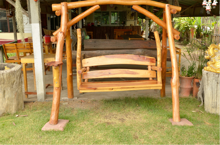 slew: New stylish wood swing