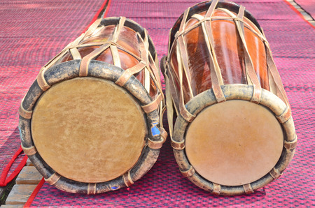 pinchbeck: Thai style drums on violet mats