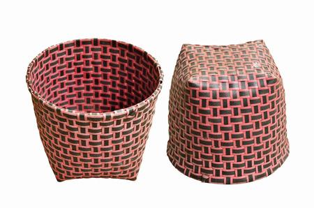 overturn: Up and downside rosso cestino di plastica