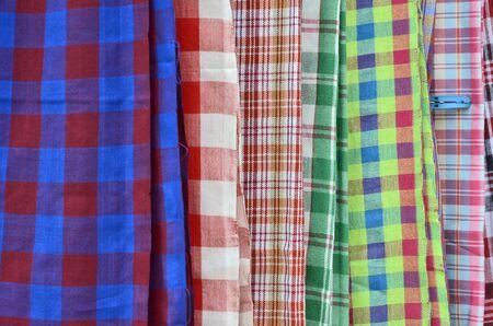 multipurpose: Thai pattern of multipurpose clothes Stock Photo