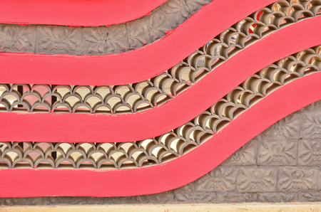 china wall: Modelo del arte del estilo de la pared chino