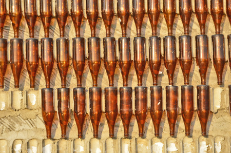 brown bottles: Plenty brown bottles on the wall