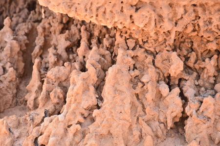 land slide: Wonderful shape of tumbledown earth