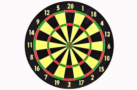 dart on target: Target board for dart target game