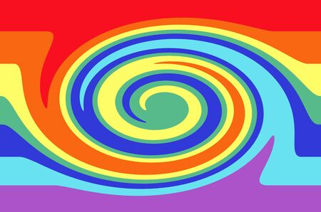 twirl: Twirl rainbow color pattern texture Stock Photo