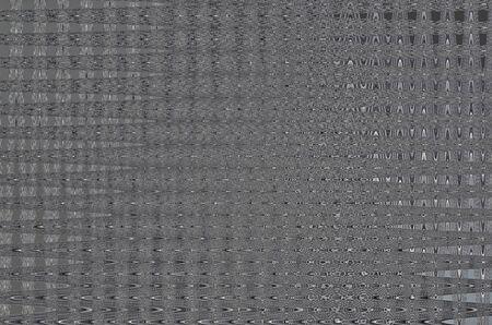 distort: Black pattern of hexagon mesh wave