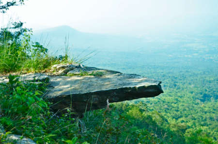 slab: Thin slab over deep valley