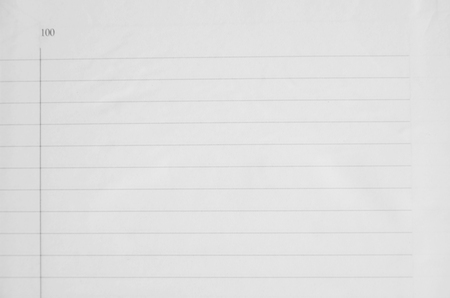 notebook paper background: Lines for writing on white paper