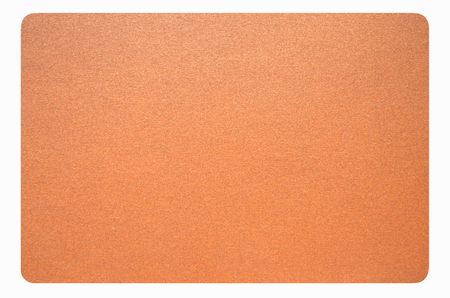sandpaper: Smooth sandpaper on white background Stock Photo
