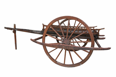 conservative: Conservative ancient cart with beautiful pattern