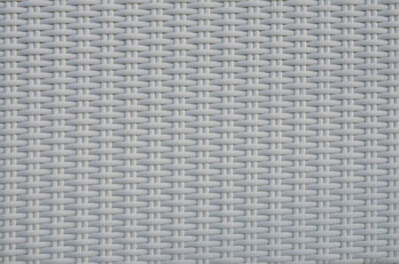 White pattern of woven plastic line texture