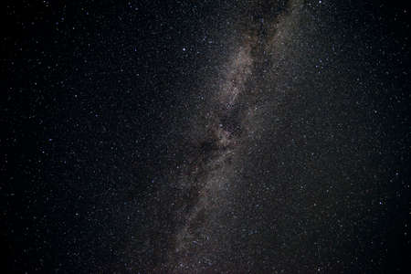 Beautiful milky way stars and constellations shot during night time away from light pollution of the city