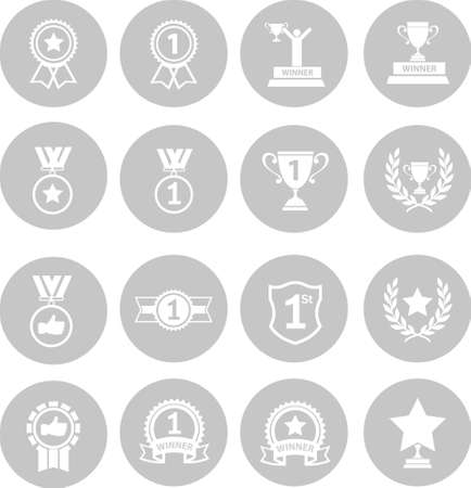 medal like: Trophy and awards icon Illustration