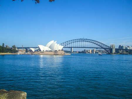 시드니 오페라 하우스 시드니 하버 브리지 도로 다리 도시 호주 시드니 아름다운 곡선의 집 사람들은 5 서식지