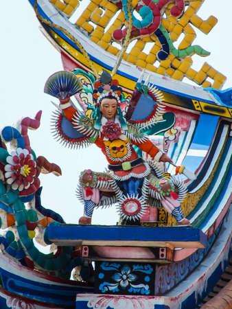 the godfather: Chinese goddess 3 Stock Photo