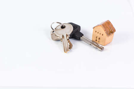 House and keyring,  invesment and realestate cconcept