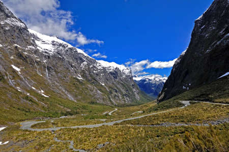 Homer tunnel in New Zealand Stock Photo - 11945523