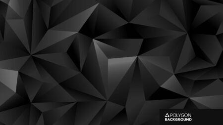 Abstract geometric background with triangle shape Ilustração Vetorial