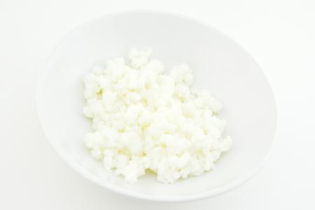 Kefir grains in a bowl Foto de archivo