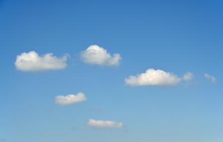 Clouds again a blue sky