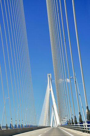 Rio Antirio cable-stayed bridge