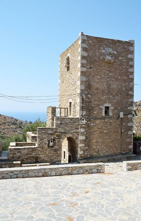 Tower house in Vathia, Mani, Greece