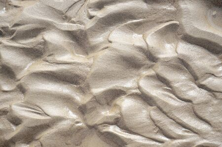 Abstract background  of wet thin sand Фото со стока
