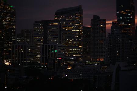 Night light business tower