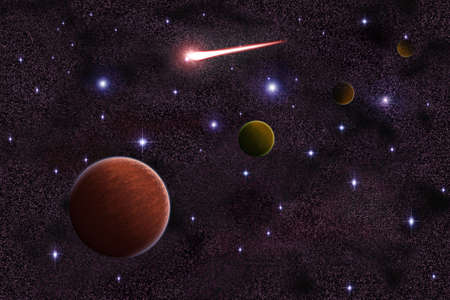 astroimage: Pluto Neptune Urenus in the galaxy