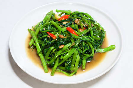 Chinese Morning Glory Stir Fried