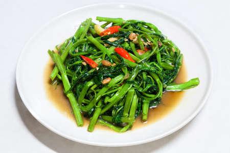 Chinese Morning Glory Stir Fried