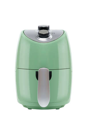 Air Fryer for Cooker at Studio Shot for Healthy Food and Healthy Concept on White Background Isolated.