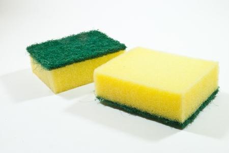 finery: kitchen sponge Stock Photo